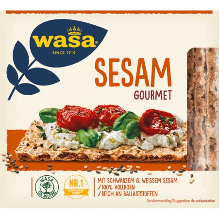 Wasa Knäckebrot Sesam Gourmet