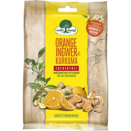 DUNGL Bonbon Orange-Ingwer-Kurkuma