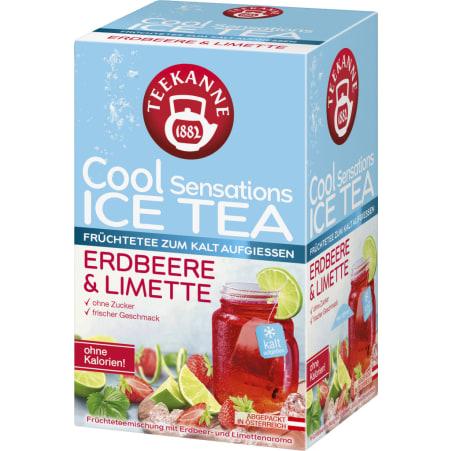 TEEKANNE Cool Sensations Erdbeere-Limette