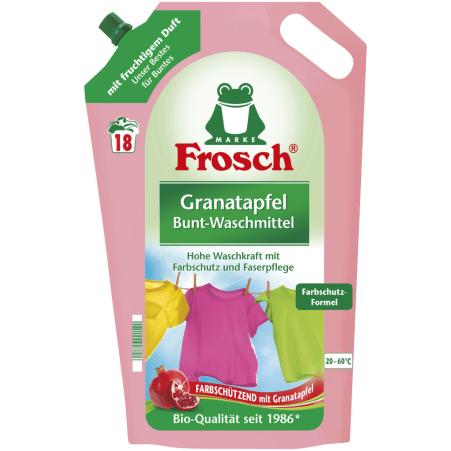 Frosch Bunt-Waschmittel Granatapfel flüssig 18 Waschgänge