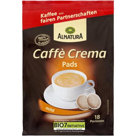 Alnatura Bio Caffe Crema mild 18 Pads