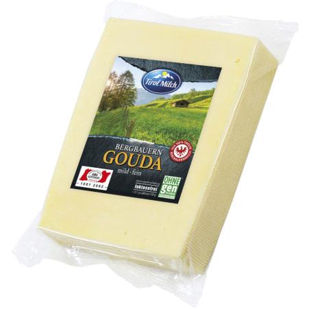 Tirol Milch Bergbauern Gouda mild fein 45% 600 gr