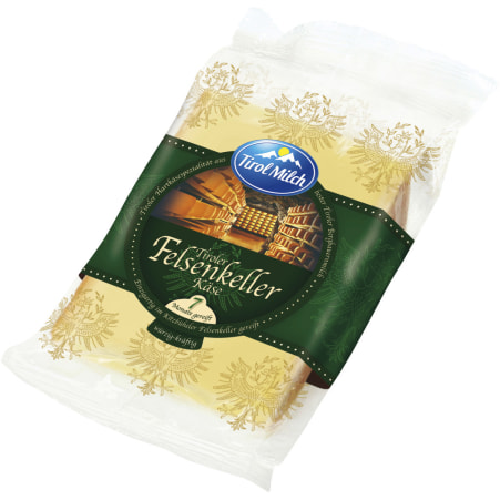 Tirol Milch Tiroler Felsenkeller Käse würzig-kräftig 45%