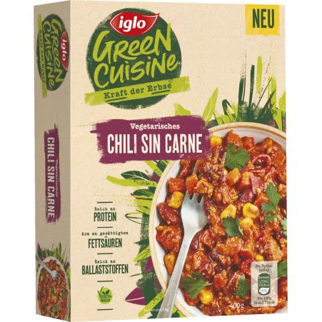 Iglo Green Cuisine Vegetarisches Chili sin Carne
