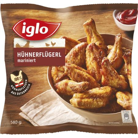 Iglo Hühnerflügel mariniert