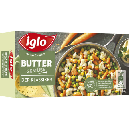 iglo Der Klassiker Buttergemüse