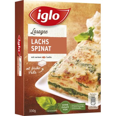 Iglo Lasagne Lachs-Spinat