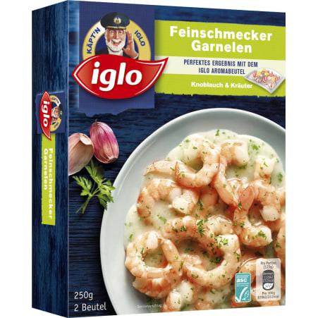 Iglo Feinschmecker Garnelen Kräuter-Knoblauch