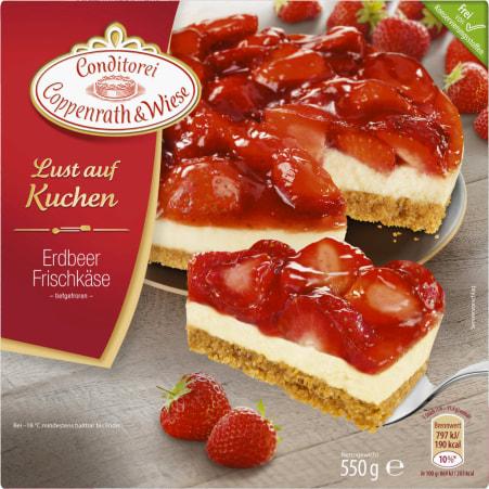 Conditorei Coppenrath & Wiese Lust auf Kuchen Erdbeer Cheesecake