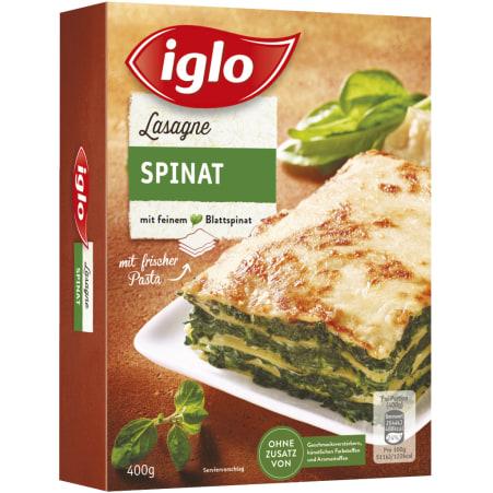Iglo Spinat-Lasagne
