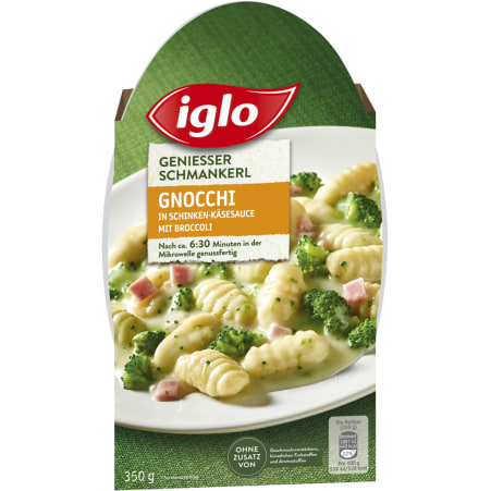 Iglo Schmankerl Gnocchi Käse