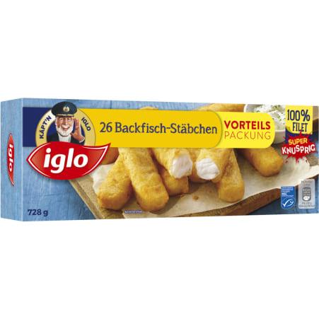 Iglo Backfischstäbchen MSC 26er-Packung