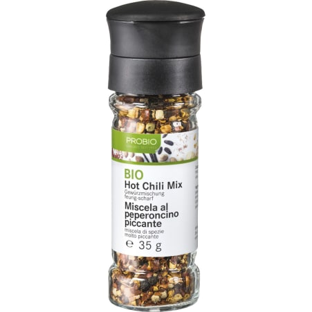 PROBIO Bio Hot Chili Mix Mühle