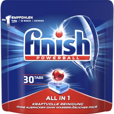 Finish Powerball All-in-1 30 Geschirrspültabs
