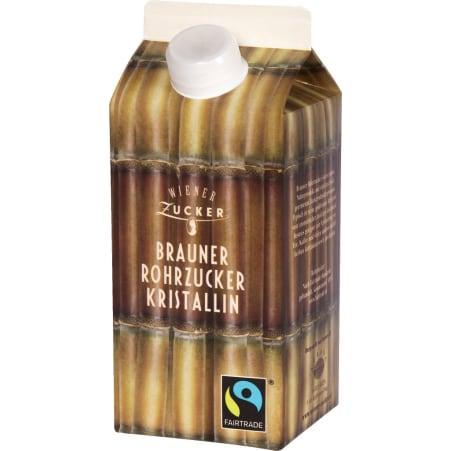 Wiener Zucker Brauner Rohrzucker Fairtrade