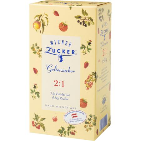 Wiener Zucker Gelierzucker 2:1