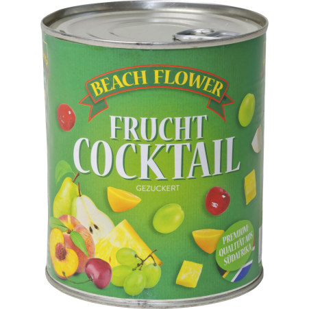 Beach Flower Fruchtcocktail gezuckert 0,85 Liter
