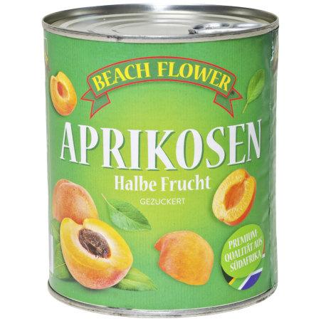 Beach Flower Aprikosen halbe Frucht gezuckert