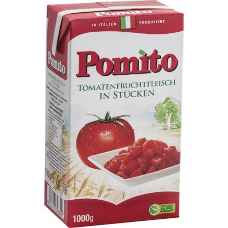 Pomito Tomatenfruchtfleisch in Stücken 1,0 kg