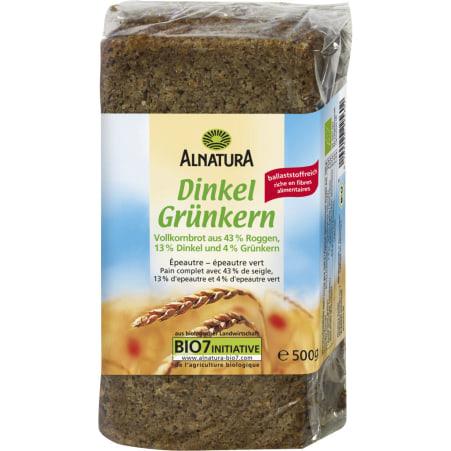 Alnatura Bio Dinkel-Grünkern Brot