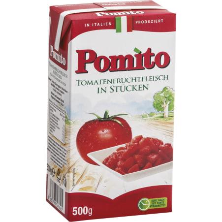 Pomito Tomatenfruchtfleisch in Stücken 500 gr