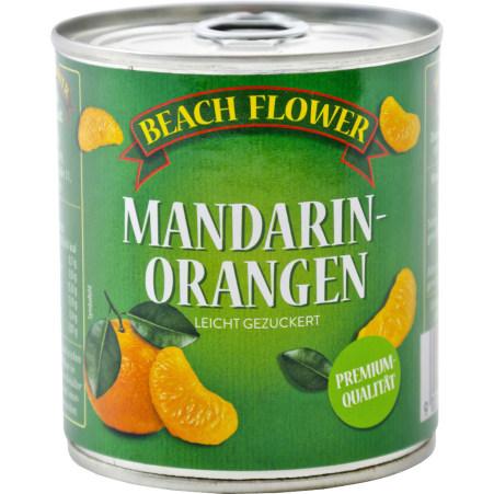 Beach Flower Mandarin-Orangen-Spalten leicht gezuckert