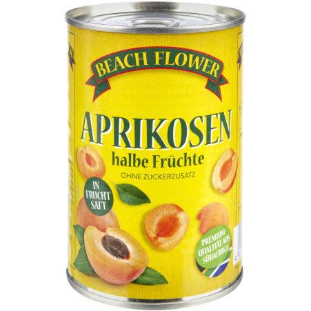 Beach Flower Aprikosenhälften gezuckert