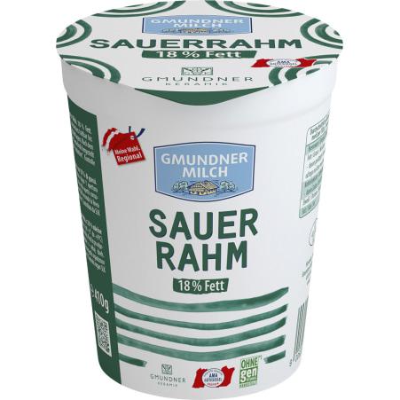 Gmundner Milch Sauerrahm 18%