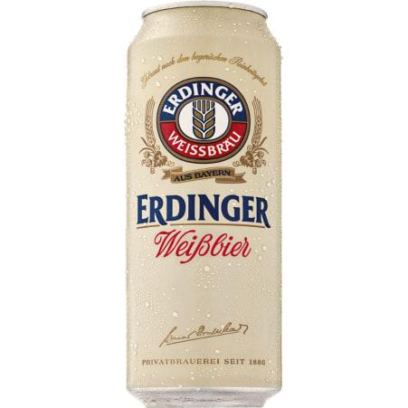 ERDINGER Weißbier Feine Hefe 0,5 Liter Dose