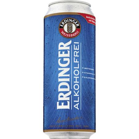 ERDINGER Bier alkoholfrei 0,5 Liter Dose