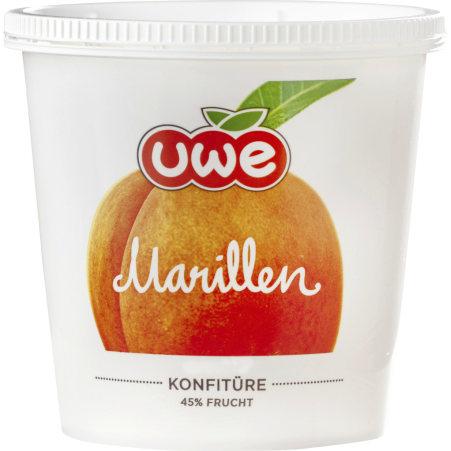 UWE Marillen Konfitüre 45% Frucht