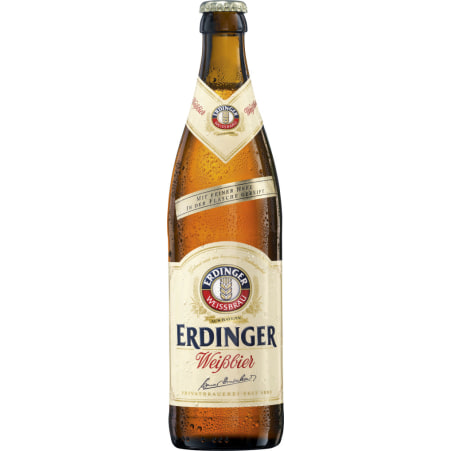 ERDINGER Weißbier Feine Hefe 0,5 Liter