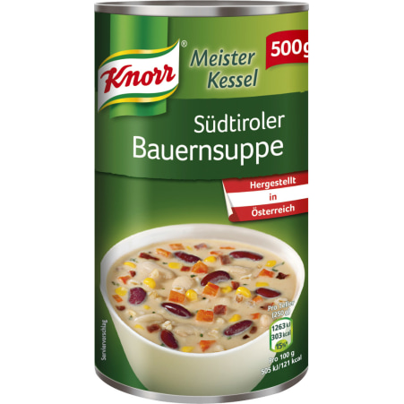 Knorr Meister Kessel Südtiroler Bauernsuppe
