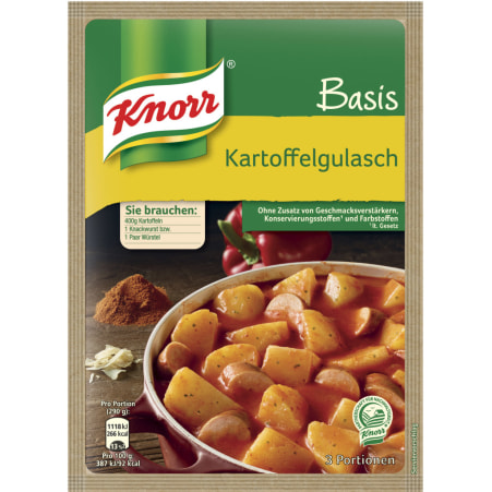 Knorr Basis Kartoffelgulasch