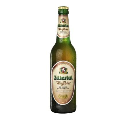 Zillertal Bier Weißbier Dunkel 0,5 Liter Mehrweg-Flasche