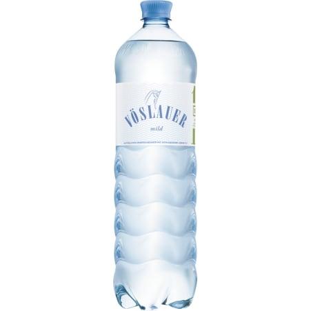 Vöslauer Mineralwasser mild Tray 6x 1,5 Liter