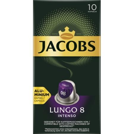 JACOB Lungo 8 Intenso 10 Kapseln