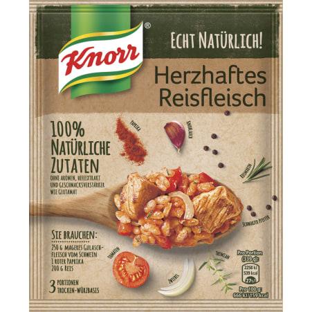 Knorr Echt Natürlich Reisfleisch