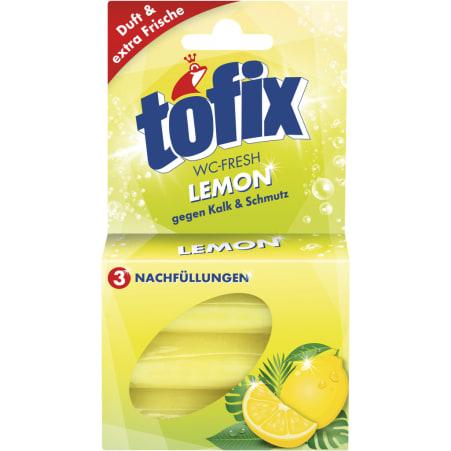 Tofix WC-Fresh Lemon Nachfüllung 3er-Packung