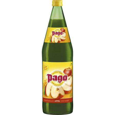 PAGO Apfel 100% 1,0 Liter Mehrweg-Flasche