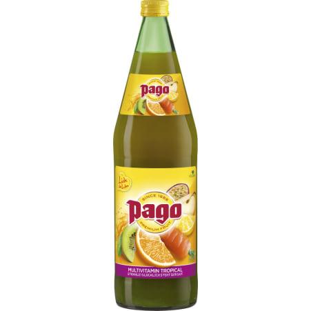 PAGO Multivitamin 1,0 Liter Mehrweg-Flasche