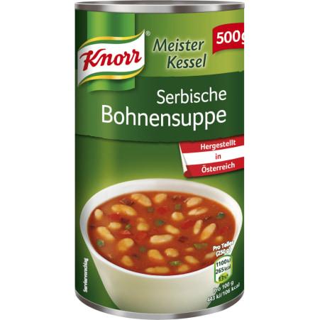 Knorr Meister Kessel Serbische Bohnensuppe