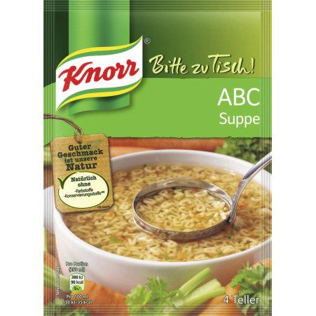 Knorr Bitte Zu Tisch ABC Suppe