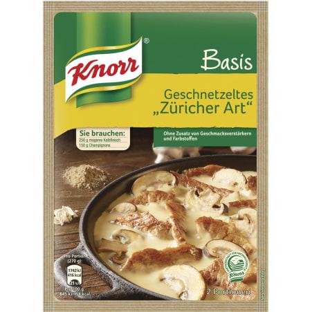Knorr Basis Geschnetzeltes Züricher Art