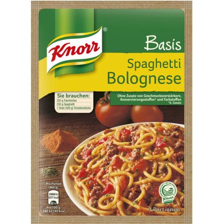 Knorr Basis Spaghetti Bolognese