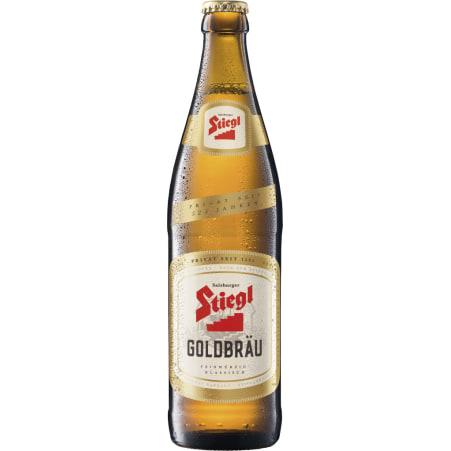 Stiegl Goldbräu 0,5 Liter Mehrweg-Flasche