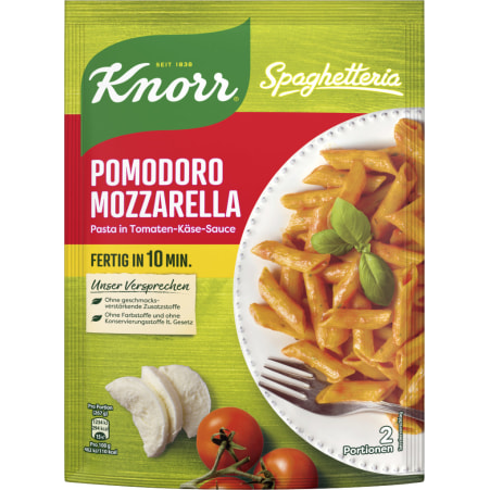 Knorr Spaghetteria Pomodoro Mozzarella Fertiggericht