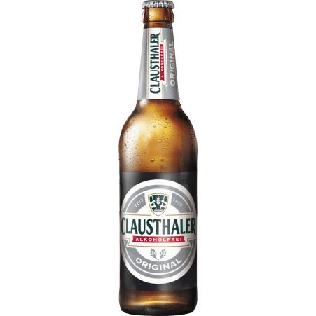 Clausthaler Alkoholfrei 0,5 Liter Einweg-Flasche