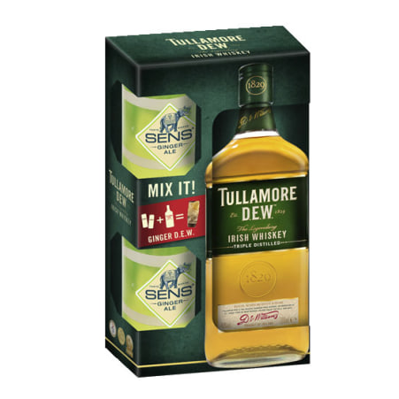 Tullamore Dew Irish Whiskey 40%