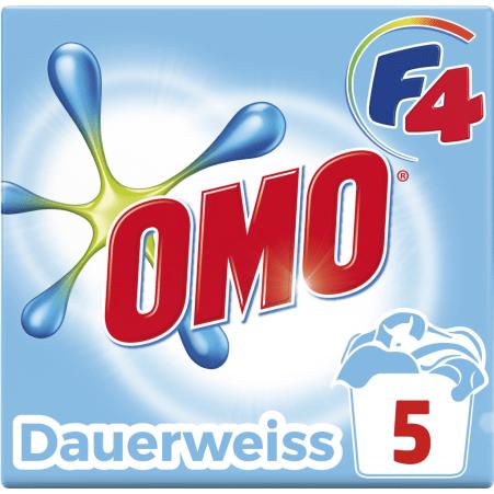 Omo F4 Dauerweiss 5 Waschgänge